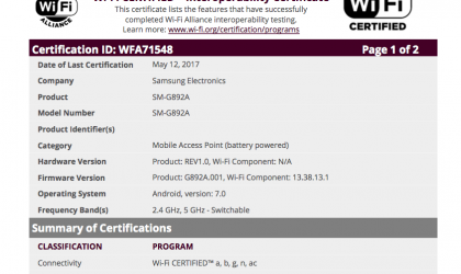 AT&T Galaxy S8 Active could launch soon, clears Wi-Fi alliance as SM-G892A