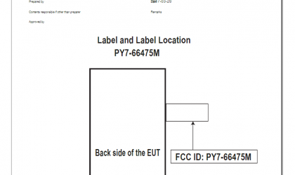 Unknown Sony Xperia phone (PY7-66475M) shows up at FCC