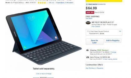 Deal: Best Buy offering Galaxy Tab S3 accessories at huge discounts