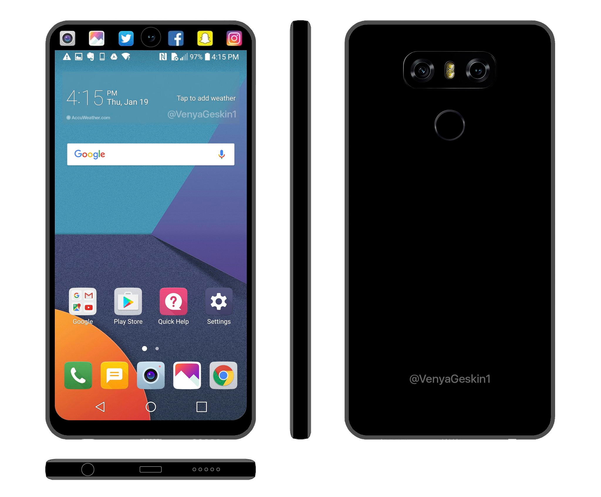This Lg V30 Concept Is Really Cool The Android Soul