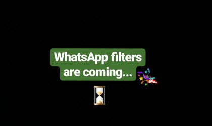 WhatsApp will soon let you add filters to your photos