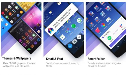 APUS Launcher update adds Hide apps feature, new animations and more