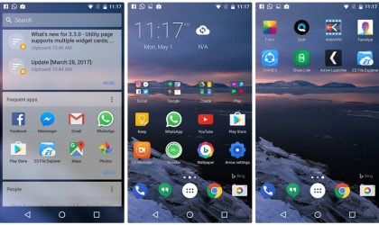 Arrow Launcher gets Android for Work support and a new Notes card