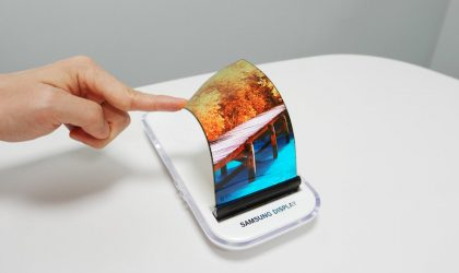 Samsung setting up a new factory to produce flexible OLED panels for Smartphones
