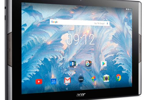 Acer Iconia Tab 10 unveiled with Quantum Dot display and built-in subwoofer