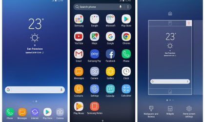 Samsung releases Galaxy S8 launcher to the Play Store