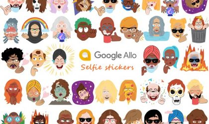 Now create personalized selfie stickers with Google Allo app