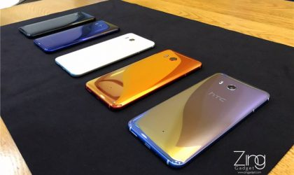 HTC U11 colors: Check out these cool real-world pics of all five colors