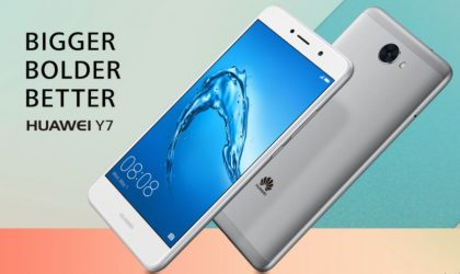 Huawei Y7 is now official, features 4000mAh battery, Android 7.0 Nougat and EMUI 5.1