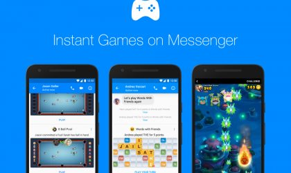 Facebook Messenger's Instant Games are now available worldwide; new features added