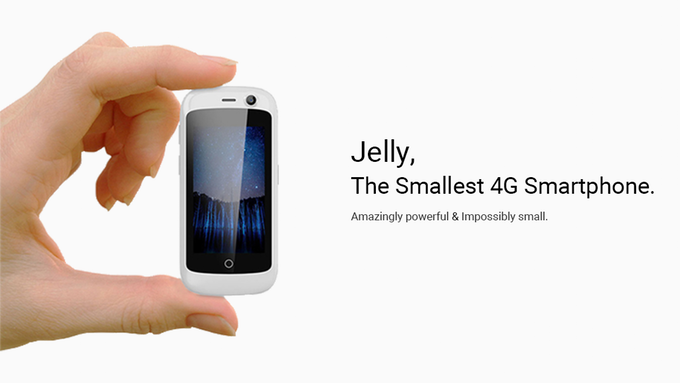 Mini Smartphone, Jelly, by Unihertz Launched with a 2.45-inch Display