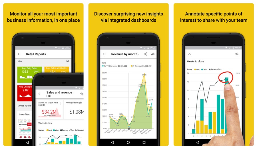 Microsoft Power Bi Introduces Shared With Me And Apps