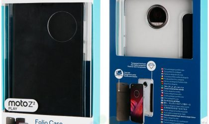 Motorola certified Moto Z2 Play Folio Case leaked