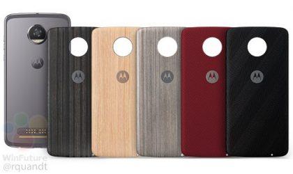 Motorola Moto Z2 Play leaks in Grey with case designs