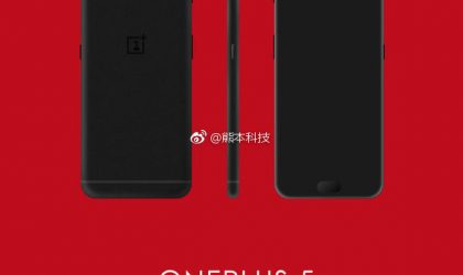 Today's OnePlus 5 render leak looks the most legit one, so far that is