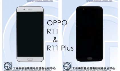 Pics of Oppo R11 and R11 Plus available through TENAA