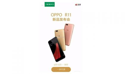 Oppo R11 to launch on June 10