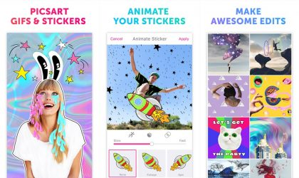 PicsArt Gifs & Stickers is a dedicated Android app for, well, GIFs and Stickers