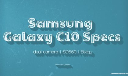 Samsung Galaxy C10 to be first Samsung dual camera phone?