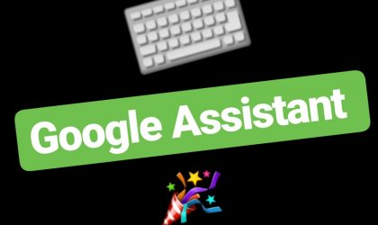 How to set keyboard as preferred input on Google Assistant