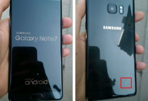 Refurbished Galaxy Note 7 will carry a 'R' on the back [Images]