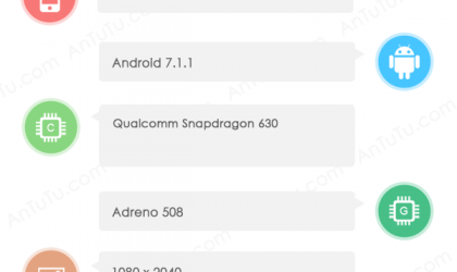 Sharp FS8010 specs revealed via AnTuTu benchmark