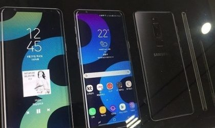 Samsung Galaxy Note 8 render leaks out again, looks real deal