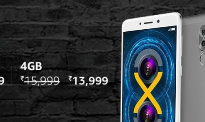 [Deal] Honor 6X price slashed by INR 1,000 and INR 2,000 for limited time at Amazon India