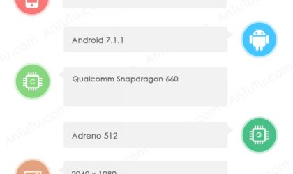 Sharp FS8016 leaks at AnTuTu with Snapdragon 660 chipset and odd res of 2040×1080 pixels