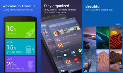Arrow Launcher update brings better Voice Search and Arrow Hub Card to transfer files to PC