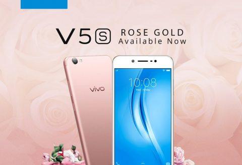 Vivo V5S gets new Rose Gold color