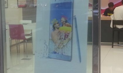 Galaxy Note Fan Edition posters are up in South Korea, launch imminent