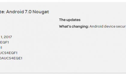 AT&T Galaxy Note 5 receiving OTA update with June security patch