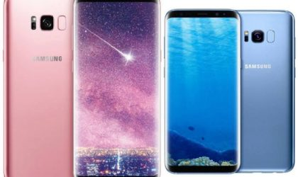 Galaxy S8 gets new Coral Blue color while S8 Plus gets painted in Rose Gold in Korea