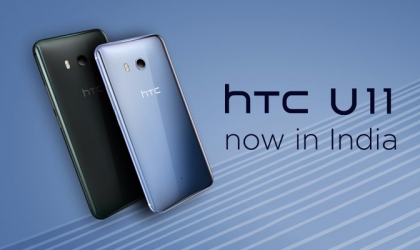 HTC U11 launched in India for INR 51,990 (128GB variant)
