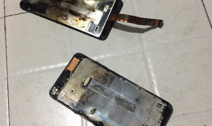 Huawei P10 Plus spontaneously combusts for someone in China