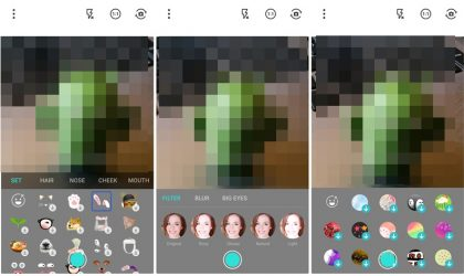 Now combine different face filters using the new MagiCam app