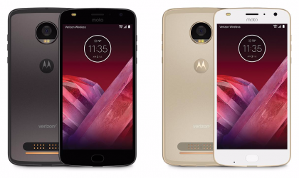 Moto Z2 Play announced, releasing next month to Verizon in US
