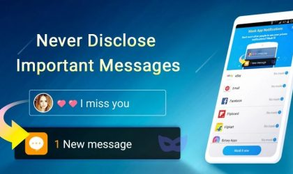 Notification Guard Android app lets you mask messages so that secrets chats remain secret