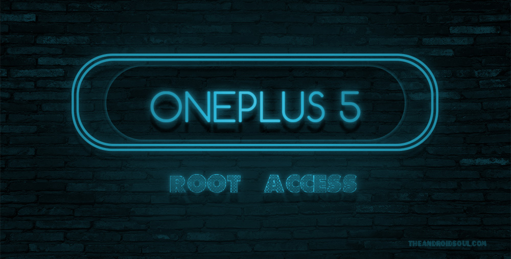 OnePlus 5 root