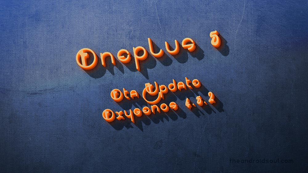 OnePlus 5 update