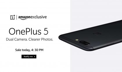 OnePlus 5 to go on sale in India today