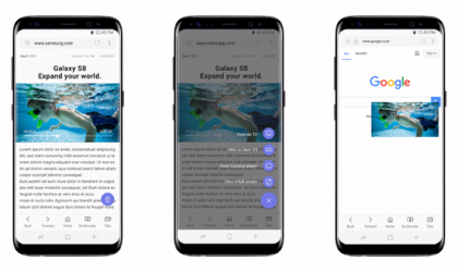 Samsung updates Internet Browser, brings Quick Menu, QR Reader, and CloseBy as extensions
