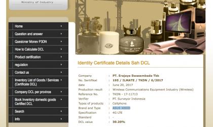 Asus ZenFone 4 Max gets certified in Indonesia