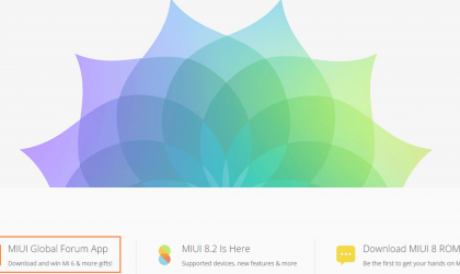 Stand a chance to win Xiaomi Mi6 by downloading MIUI Forum app