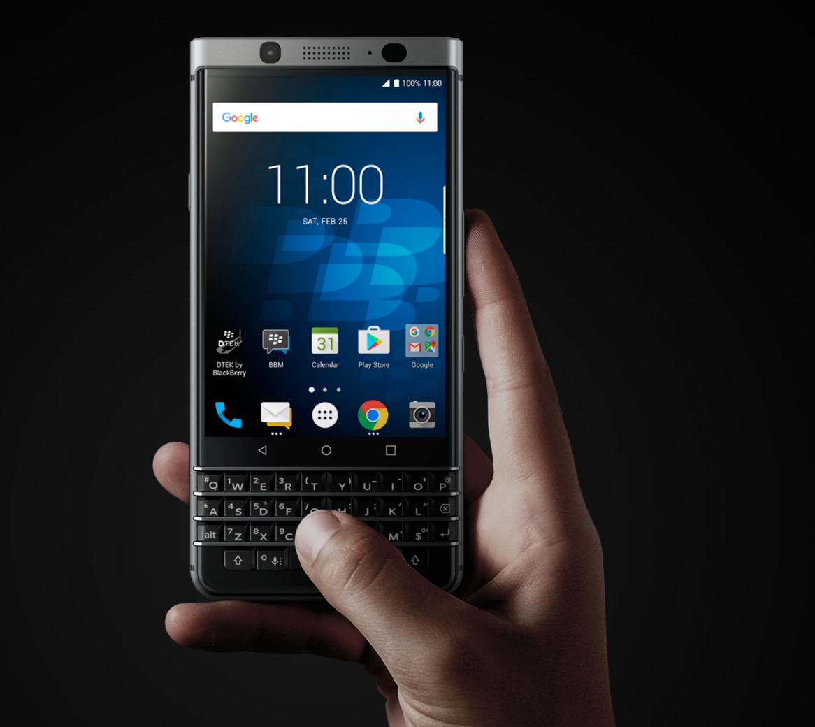 AT&T BlackBerry KeyOne receiving new update as AAO750 build