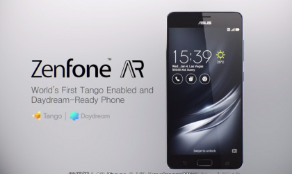 First update for Asus ZenFone AR update is out already