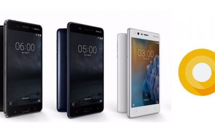 Nokia 3, Nokia 5 and Nokia 6 will get Android 8.0 (O) update, confirms HMD
