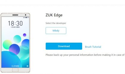 Flyme 6 for Lenovo ZUK Edge now available for download