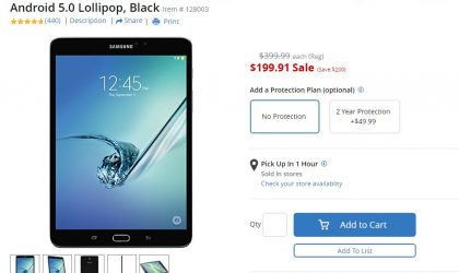 [Hot Deal] Galaxy Tab S2 8-inch on sale for $200 at Office Depot